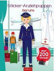 Sticker-Anziehpuppen Berufe