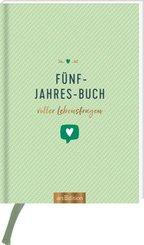 Fünf-Jahres-Buch voller Lebensfragen