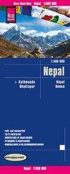 Reise Know-How Landkarte Nepal (1:500.000)