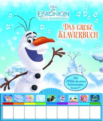 Disney - Die Eiskönigin, das große Klavierbuch, m. Klaviertastatur u. Soundeffekten