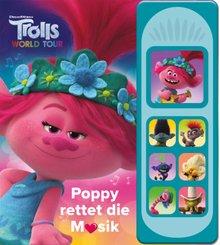 Trolls World Tour - Poppy rettet die Musik, m. Soundeffekten