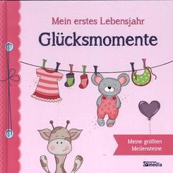 Glücksmomente, Mein erstes Lebensjahr, Babyalbum rosa
