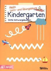 Mein Lern- & Übungsblock Kindergarten - Erste Schwungübungen