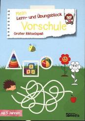 Mein Lern- & Übungsblock Vorschule - Großer Rätselspaß