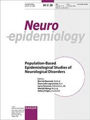 Neuroepidemiology: Population-Based Epidemiological Studies of Neurological Disorders; 54/2