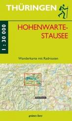 Wanderkarte Hohenwarte-Stausee