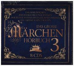 Das große Märchenhörbuch 3, 8 Audio-CD