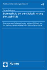 Datenschutz bei der Digitalisierung der Mobilität