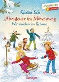 Abenteuer im Möwenweg - Wir spielen im Schnee