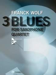 3 Blues, m. Audio-CD