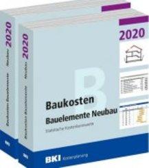 BKI Baukosten Gebäude + Bauelemente Neubau 2020 - Kombi Teil 1-2
