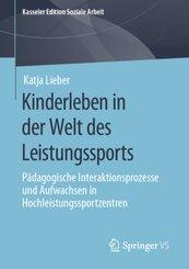 Kinderleben in der Welt des Leistungssports