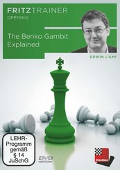 The Benko Gambit Explained, 1 DVD-ROM