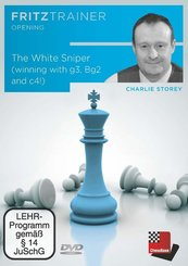 The White Sniper (winning with g3, Bg2 and c4!), 1 DVD-ROM