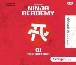 Ninja Academy 1. Der Auftrag, 3 Audio-CD