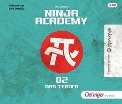 Ninja Academy 2. Das TESUTO, 3 Audio-CD