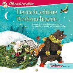 Tierisch schöne Weihnachtszeit, 1 Audio-CD