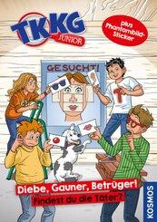 TKKG Junior, Diebe, Gauner, Betrüger!