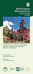 Odenwald Freizeitkarte Bergstraße-Weschnitztal