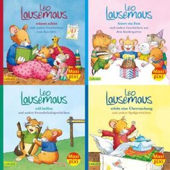 Leo Lausemaus - Meine liebsten Geschichten von Leo Lausemaus, 4 Hefte