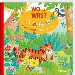 WO ist WAS? Kunterbunte Welt der Tiere