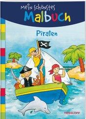 Mein schönstes Malbuch - Piraten