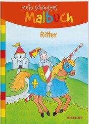 Mein schönstes Malbuch - Ritter