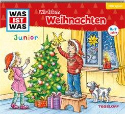 WAS IST WAS Junior Hörspiel Wir feiern Weihnachten