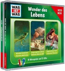 WAS IST WAS 3-CD Hörspielbox. Wunder des Lebens, Audio-CD
