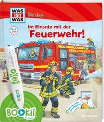 BOOKii® WAS IST WAS Junior Im Einsatz mit der Feuerwehr!