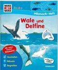 WAS IST WAS Junior Mitmach-Heft. Wale und Delfine.