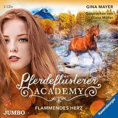 Pferdeflüsterer-Academy - Flammendes Herz, 2 Audio-CD