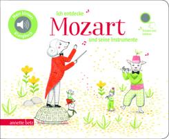 Ich entdecke Mozart und seine Instrumente, m. Soundeffekten