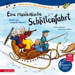 Eine musikalische Schlittenfahrt, m. Audio-CD