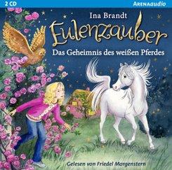 Eulenzauber - Das Geheimnis des weißen Pferdes, 2 Audio-CD