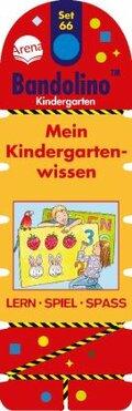 Bandolino (Spiele): Mein Kindergartenwissen