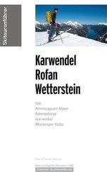 Skitourenführer Karwendel Rofan Wetterstein