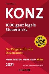 Konz, 1000 ganz legale Steuertricks 2021