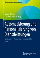 Automatisierung und Personalisierung von Dienstleistungen - Bd.2