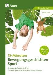 15-Minuten-Bewegungsgeschichten Sport Klassen 5-6