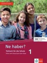 Ne haber? 1 - Schülerbuch + Klett Augmented