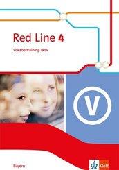 Red Line. Ausgabe für Bayern ab 2017: 8. Klasse, Vokabeltraining aktiv