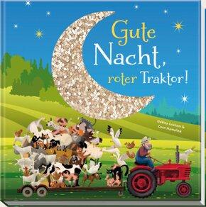Gute Nacht, roter Traktor!