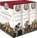 William Shakespeare Sämtliche Werke in drei Bänden, 3 Bände