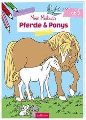 Mein Malbuch Pferde & Ponys