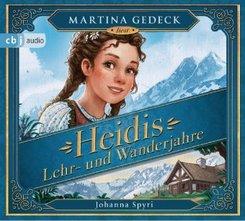 Heidis Lehr- und Wanderjahre, 4 Audio-CD