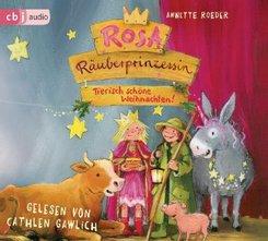 Rosa Räuberprinzessin - Tierisch schöne Weihnachten!, 1 Audio-CD