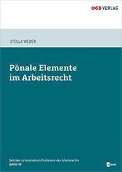 Pönale Elemente im Arbeitsrecht, m. 1 E-Book