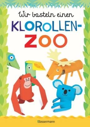 Wir basteln einen Klorollen-Zoo