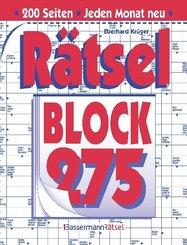 Rätselblock - . 275